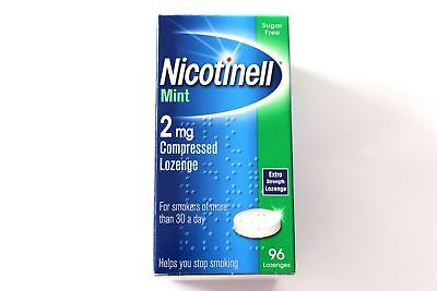 Nicotinell Mint 2mg Medicated Extra Strength Lozenge - 96 Lozenges