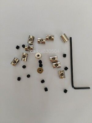 7MM LENGTH PIN keepers locking pin backs savers jacket vest hat disney  military