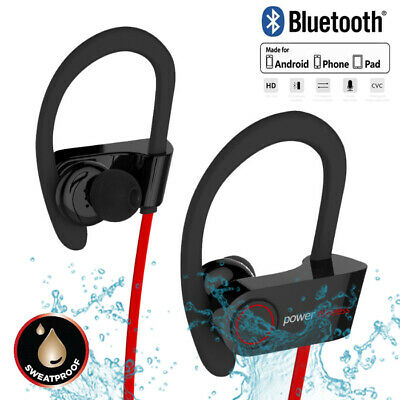 Waterproof Bluetooth Earbuds Beats Sports Wireless Headphones in Ear Headset NEW