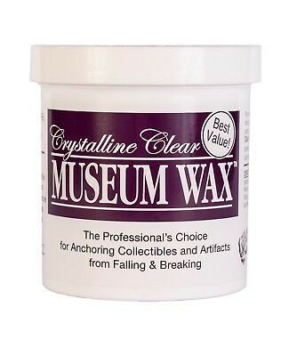 Ready America QuakeHold Museum Wax 13oz Jar - CRACKED LID!