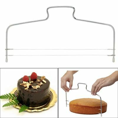 Cake Tools Adjustable Wire Cutter Stainless Steel Diy Baking Butter Bread Slicer