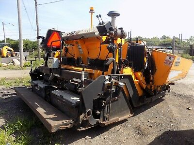 2011 Leeboy 8515B Asphalt Paver with TOP CON 5 - Two Receivers / Steel Tracks