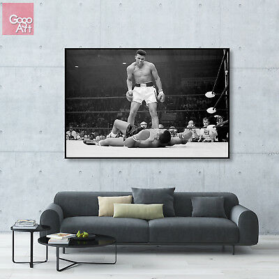 Canvas print wall art big poster Muhammad Ali Heavy Wight World Champion Sport g