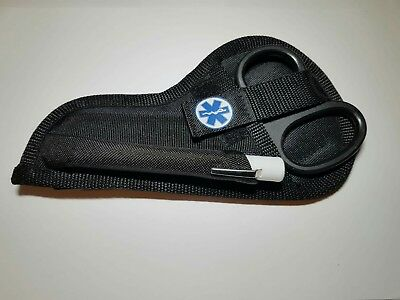 Tuff /tough cut and pen torch pouch with star of life