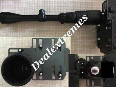 A&G Smart phone mount for Rifle Scope with universal Mount Adapter Record hunt