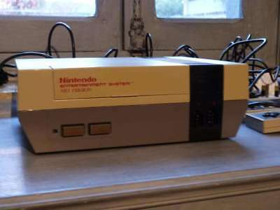 Nintendo NES Console with Leads and 2 Two Controllers Retro Game  Pal UK