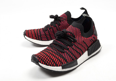 2d4dcb85f439f New Adidas NMD R1 PK STLT Red Solid   CQ2385   Men s Boost Primeknit Core  Black