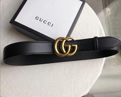 e3095497e Women GGenuine Leather Dress Gucci Belts FashionLogo Pattern Jean 3.8cm  Free TAX