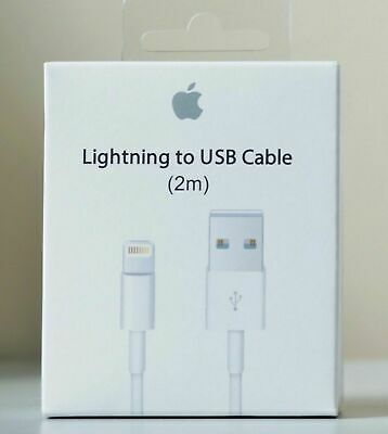 GENUINE Apple MD819ZM/A Lightning to USB Cable (2m)    NEW   // FREE SHIPPING //