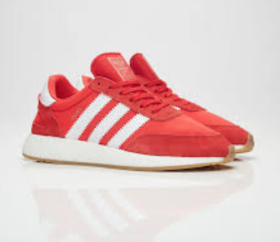 best sneakers 7ee96 6ac61 ... New adidas BB2091 Men Iniki Runner I-5923 Running Boost Shoes RED White  Gum ...