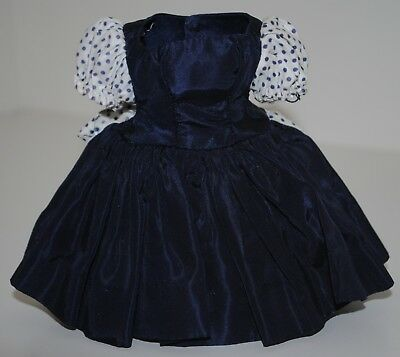 Madame Alexander Cissette Doll #916 Navy Blue Taffeta Dress