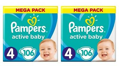 _Pampers Active Baby Dry Gr.4 * 212 Stück * ANGEBOT *