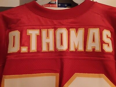 sports shoes ed13b 2c1a7 DERRICK THOMAS KANSAS City Chiefs Authentic Wilson Home Jersey