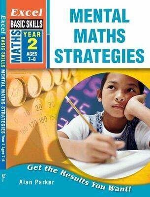 NEW Mental Maths Strategies Year 2 By Excel Paperback Free Shipping