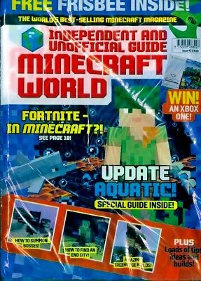 Minecraft World Magazine Issue #43 ~ New Sealed Pack ~