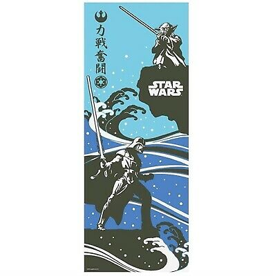 STAR WARS TENUGUI Japanese Cotton Fabric Hand Towel MADE IN JAPAN 90X34cm T15