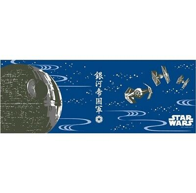 STAR WARS TENUGUI Japanese Cotton Fabric Hand Towel MADE IN JAPAN 90X34cm T24