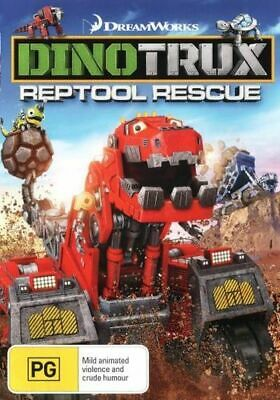 NEW Dinotrux Reptool Rescue DVD Free Shipping