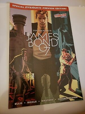 Ian Fleming's James Bond 007 Comic Preview  New York Comic Con Exclusive