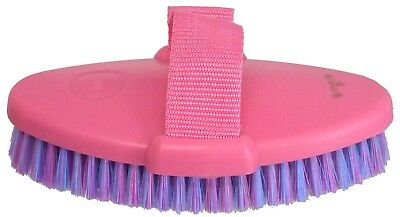 Grooming Body  Brush Horse Dog Cow Cat ~ With Strap ~ SET OF 6 ~ In Pink