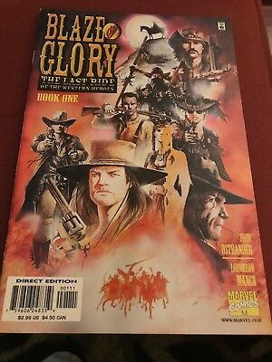 Blaze Of Glory: The Last Ride of the Western Heroes Book One TPB