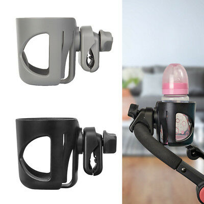 2 in 1 Baby Stroller Pram Cup Holder Universal Bottle 360° Drink Water Bike Bag