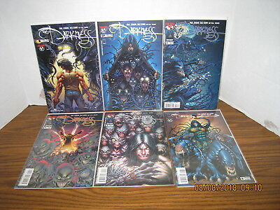 THE DARKNESS Vol. 2 #1-#6  2002 NM