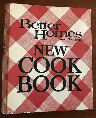 Vintage Better Homes and Gardens New Cook Book 1976 Third Printing