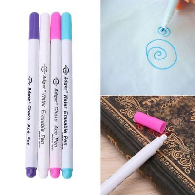 4pcs Soluble Cross Stitch Water Erasable Pens Grommet Ink Fabric Marker