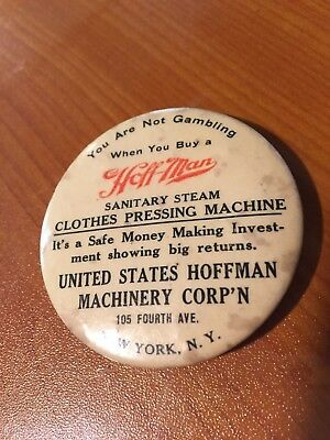 Hoff-Man Clothes Pressing Machine Dexterity Puzzle Game Bastian Bros. 30's