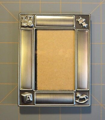 Small Pewter PICTURE FRAME for Baby