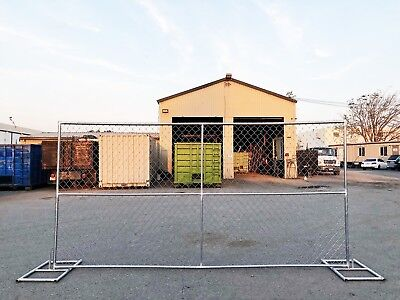 6x12 TEMPORARY CHAIN LINK  FENCE