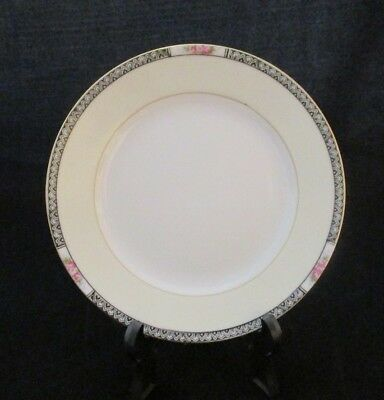 Hand Decorated Noritake Fine Porcelain Bread & Butter Plate Made in Japan 1924