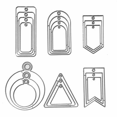 Tags DIY Metal Cutting Dies Stencil Embossing Scrapbooking Album Card Die-Cut