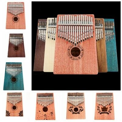 17 Key Kalimba Thumb Piano Fashion Mbira Finger Piano Percussion Keyboard Key