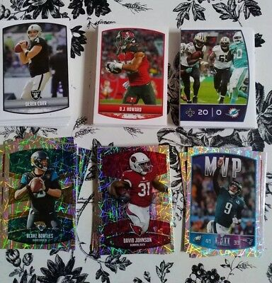 2018 PANINI NFL Football STICKERS. Updated 08/16. PICK TEN from my list.