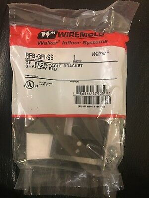 New Wiremold RFB-GFI-SS GFI Recptacle Bracket Shallow RFB