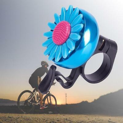 Handlebar Dia Aluminum Alloy Bicycle Ring Bell Alarm Sound Horn Sunflowerbell
