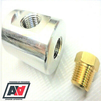 FSE In-line Fuel Pressure Gauge Adaptor With Plug 10mm Push on Fitting