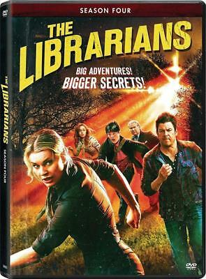 Brand New Sealed The Librarians Complete Season 4 Four 4Th (Dvd) Free Ship!ping!