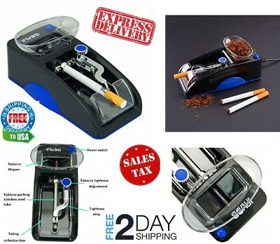 Powermatic 2 Ii + Electric Cigarette Rolling Machine Make King &Amp; 100 Mm Cigs