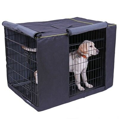 """36'' 42"""" 48'' Pet Dog Crate Cage COVER Bed Windproof Kennel House Tent ONLY"""