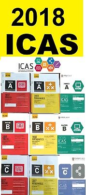 ICAS Year 2 ,3, 4, 5, 6, 7, 8, 9 English Maths  all subjects **1 Papers $1 each
