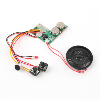 Recordable Voice Module for Greeting Card Music Sound Talk chip musical TT