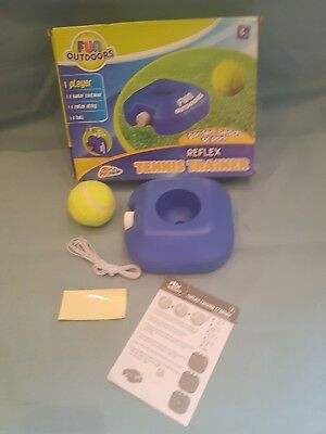 Grafix Kids Fun Outdoors Reflex Tennis Trainer Practice Tool-Garden/Beach-GC