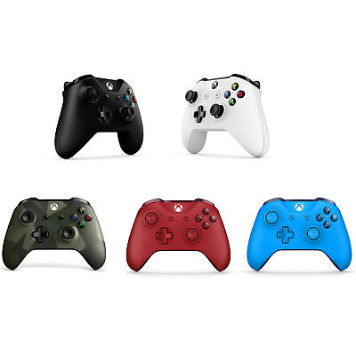 Xbox One S/ Xbox One X Wireless Bluetooth Controller Glacier 3.5mm Headset Jack