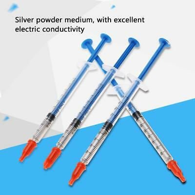 1pc Silver Conductive Wire Glue Paste Adhesive Paint Pen for Keyboard PCB Repair