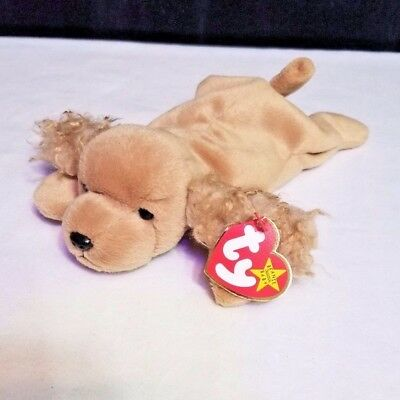 7dd0835c37c Original TY Beanie Baby Spunky Cocker Spaniel Good Condition with Tags 1997