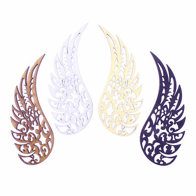 3mm MDF Wooden Laser Cut Shapes Various Sizes - Decorative Angel Wings