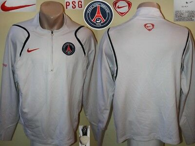 the latest 1e04d c99c0 1/4 ZIP TRAINING Top Sweatshirt Longsleeve PSG PARIS SAINT-GERMAIN Nike  Leisure
